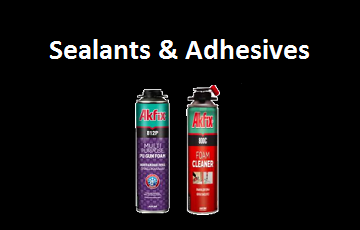 Sealants, Spray Foam, Silicone, Foam Guns