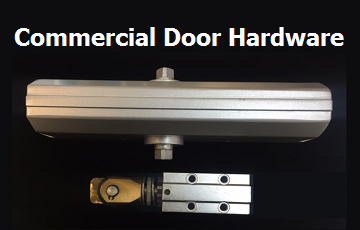 Commercial Door Hardware, Pivots, Continuous Hinges, Mall Door Rollers
